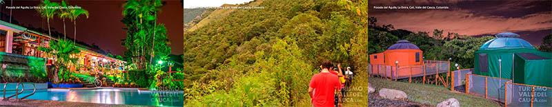 Foto general posada del agula la elvira turismo valle del cauca colombia