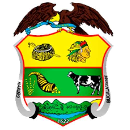 Escudo municipio bugalagrande turismo valle del cauca colombia