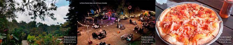 Foto general la pinera pizzeria turismo valle del cauca colombia